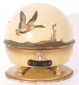 Orion Omni Directional Reproducer Switchmatic speaker decorated with flying ducks.