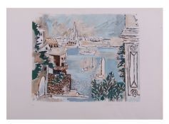 Pablo Picasso, Passage de Dinard, Limited edition lithograph from the Marina Picasso Collection,