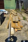 LARGE QUANTITY OF TIMBER , VARIOUS LENGTHS AND SIZES