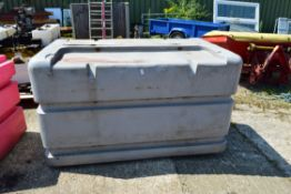 LARGE LOCKABLE STORAGE CONTAINER