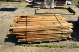 PALLET OF FEATHER EDGE BOARDING