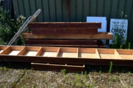QUANTITY OF USED TIMBER