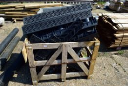 LARGE QUANTITY OF DRAINAGE GULLEYS