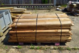 LARGE PALLET OF FEATHER EDGE BOARDING