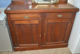EARLY TO MID 20TH CENTURY OAK SIDEBOARD, LENGTH APPROX 122CM