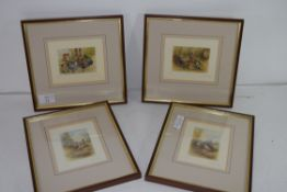 GRAHAM PAYNE, GROUP OF FOUR COLOURED LIMITED EDITION PRINTS, GAME BIRDS AND POULTRY