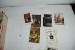 LARGE BOX CONTAINING EARLY 20TH CENTURY AND LATER ASSORTED POSTCARDS
