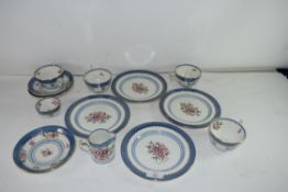QTY OF BOOTHS LOWESTOFT BORDER TEA WARES