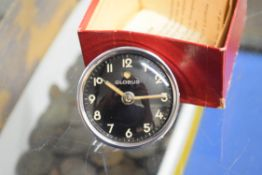 GLOBUS MECHANICAL CLOCK STATED TO BE FOR BMW R80 MOTORCYCLE
