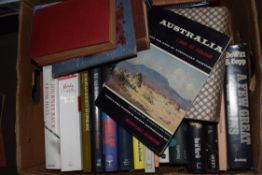 BOX CONTAINING MIXED REFERENCE BOOKS