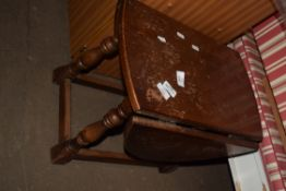 SMALL JOINTED DROP LEAF TABLE, LENGTH APPROX 50CM