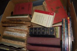 BOX OF MIXED BOOKS TO INCLUDE QTY DAILY MAIL BOOKS ETC