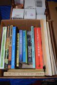 ONE BOX MIXED BOOKS