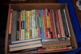 BOX VARIOUS MIXED CHILDREN'S ANNUALS TO INCLUDE DANDY, BEEZER, ETC
