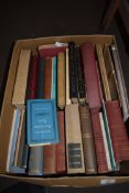 BOX OF MIXED BOOKS TO INCLUDE SOME EAST ANGLIAN INTEREST