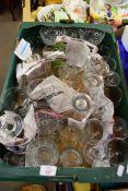 BOX MIXED GLASSWARES