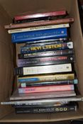 BOX OF MIXED BOOKS TO INCLUDE POLITICS AND PHILOSOPHY