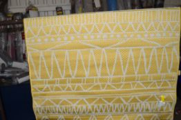 World Rug Industrial, yellow, 120 x 160cm. RRP £28.99