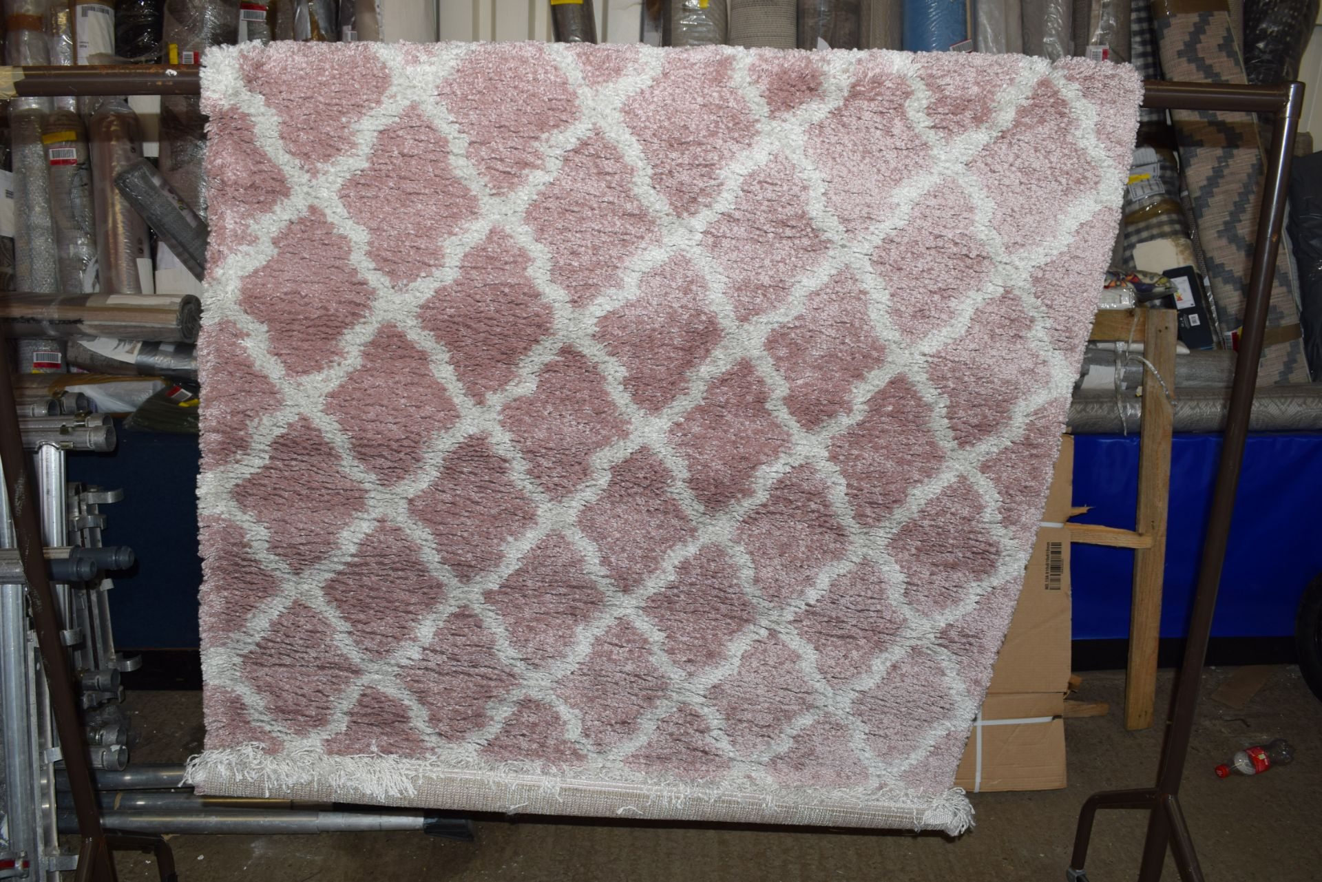 Desire rug, pink/cream, 120 x 170cm - Image 2 of 2
