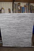 Tivago grey rug, 120 x 170cm