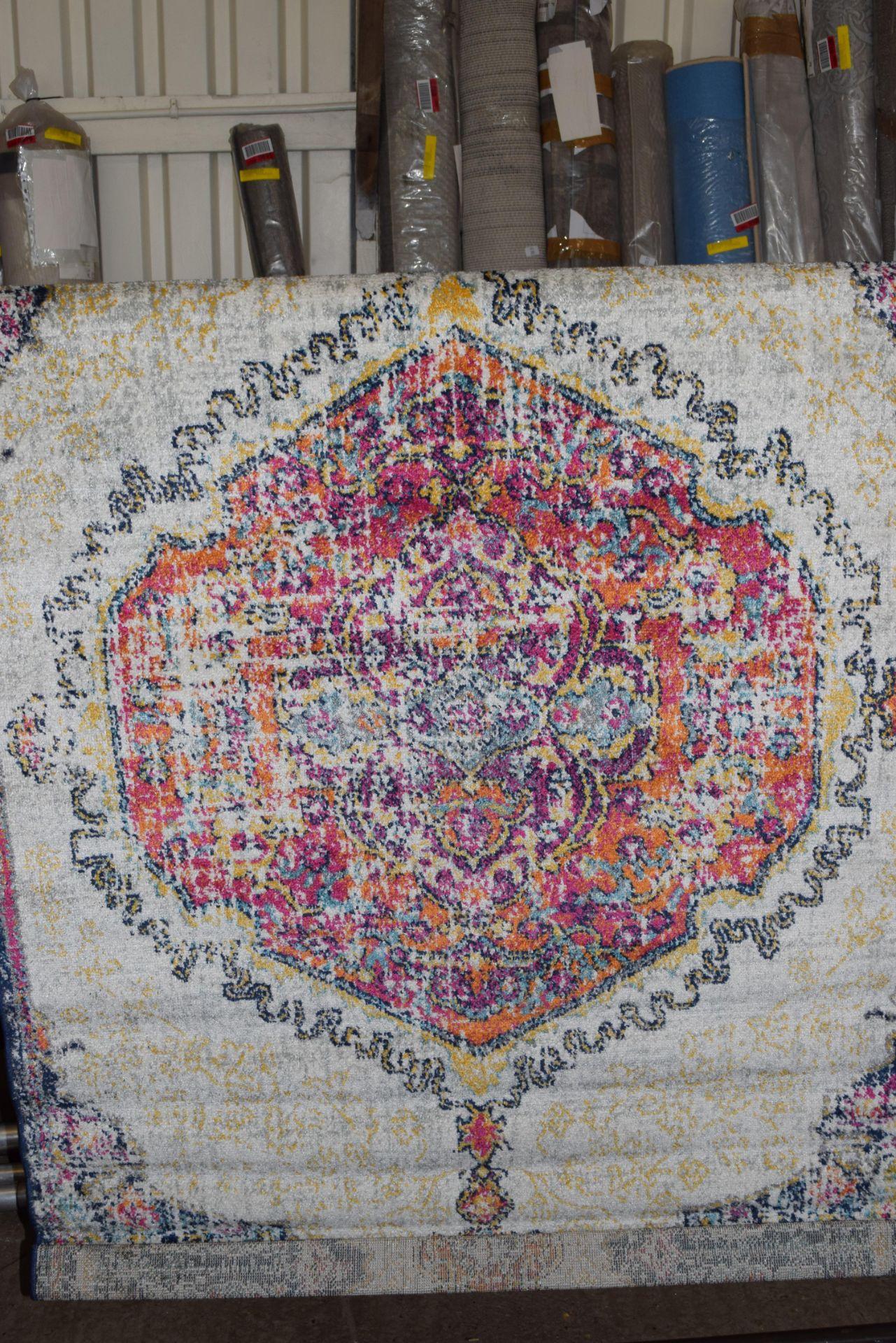 Latitude Vive Darcia pink/purple rug, 4ft x 6ft. RRP £52.99 - Image 2 of 2