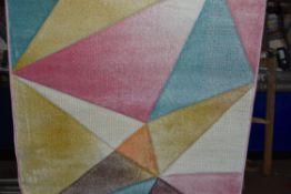 Kosy multicoloured rug, 120 x 170cm