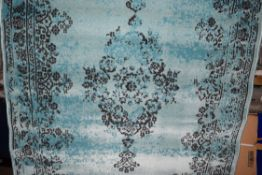 Three posts Alvin blue/green rug, 120 x 170. RRP £65.99