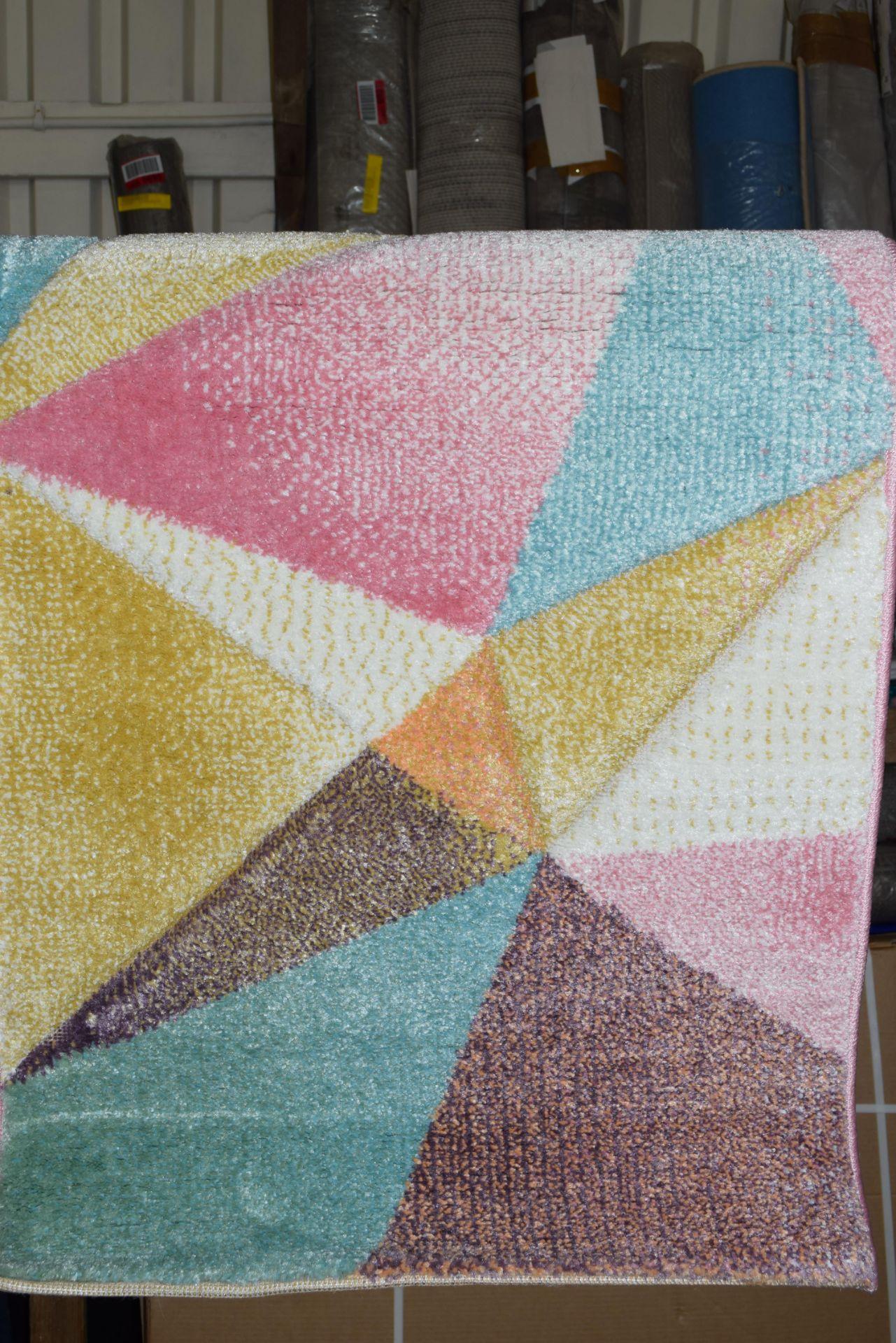 Kosi multicoloured Paco home rug, 60 x 100cm