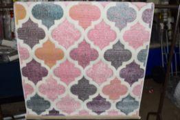 Macclesfield pink rug, 120 x 170cm