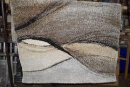 Alpen Home grey/brown rug, 120 x 170cm, RRP £39.99