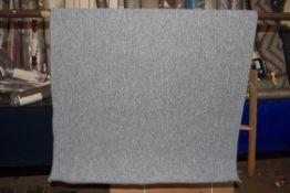 Andiamo flat weave rug in grey, 100 x 150cm. RRP 38.99
