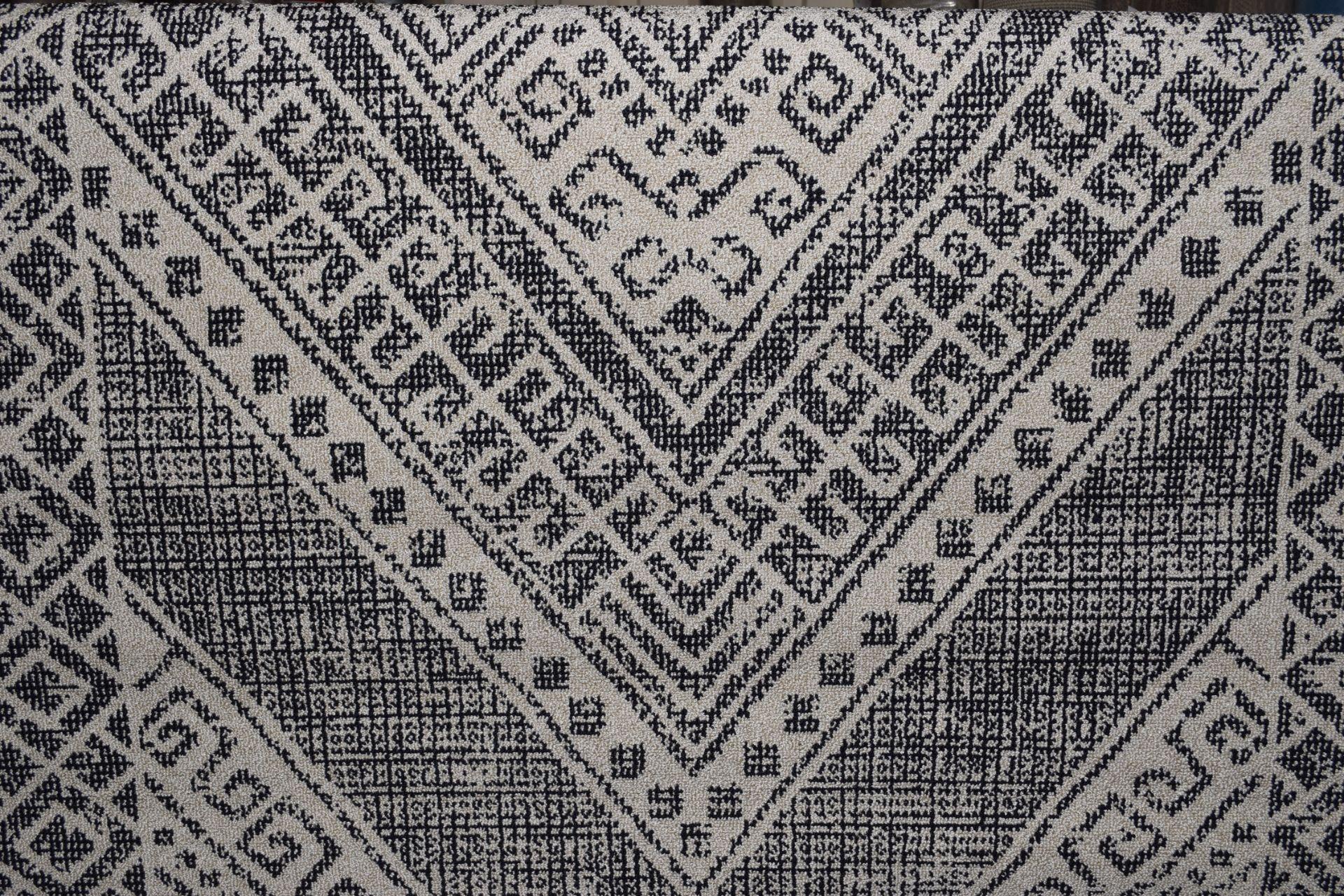 Well woven Verona Leila tribal medallion blue rug, 160 x 220cm. RRP £83.99 - Image 2 of 3