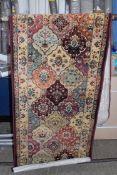 Three posts rug, Electra, brown, 120 x 170cm. RRP £127.99