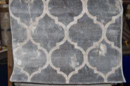 Fairmont park rug, grey. 80 x 150cm. RRP £28.99