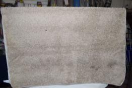 17 Stories shaggy rug in beige, 60 x 110cm. RRP £49.99