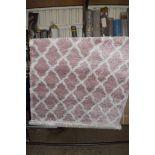 Desire rug, pink/cream, 120 x 170cm