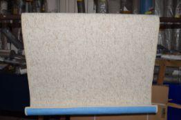 BT carpet woolly rug in cream, 50 x 76cm. RRP £51.49