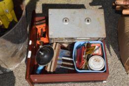 BOX OF mixed tool inc vice