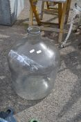 LARGE GLASS JUG, HEIGHT 50CM