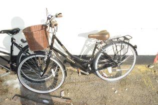 DAWES HERITAGE RANGE DIPLOMA SHOPPING BICYCLE, ADULT SIZE