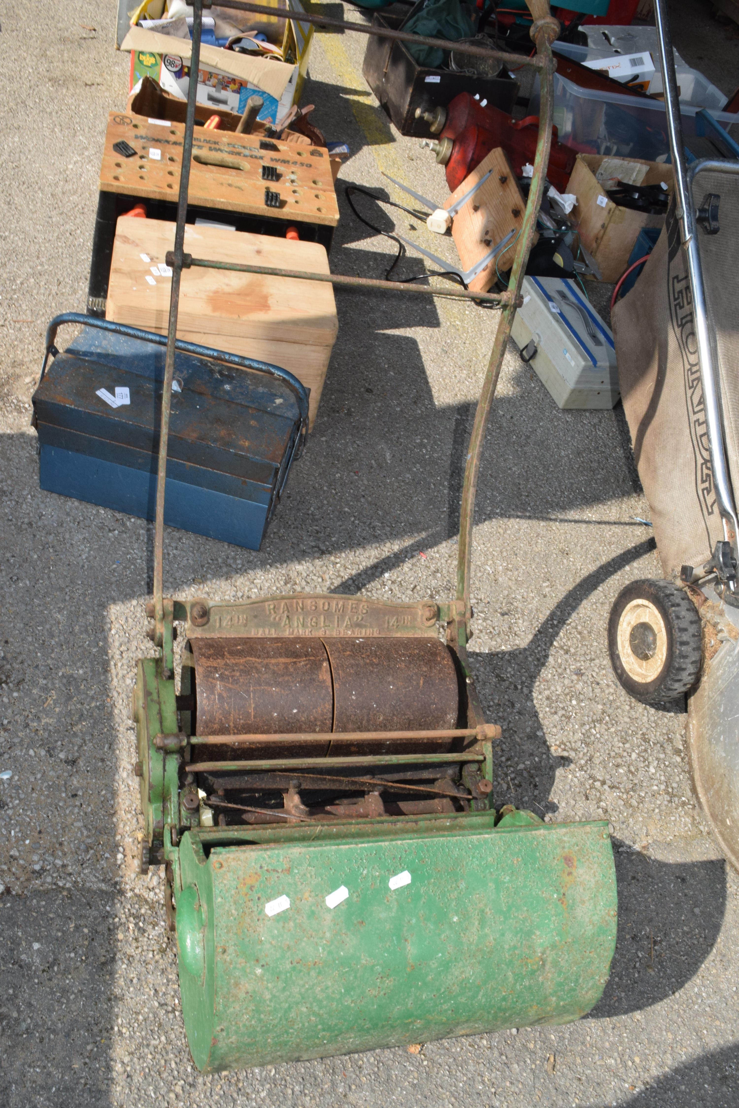 Vintage ransoms push mower