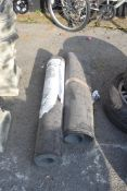 ONE FULL ROLL AND ONE PART ROLL OF ROOFING FELT