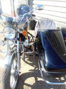 HUONIAO HN125-8 MOTORBIKE WITH A VEOREX SPORT SIDECAR