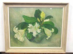 TESSA CODY (British, 20th century), A floral Still Life, oil on board, signed, 16 x 20ins