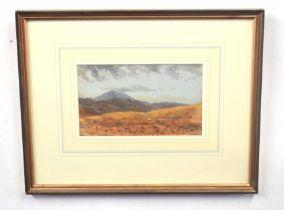 J C HARRISON (British, 20th century), Snowdon, North Wales, watercolour on paper, unsigned,