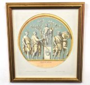 After PIETRO SANTI BARTOLI (Italian, 17th century), Offer to Apollo, Arch of Constantine, Rome,
