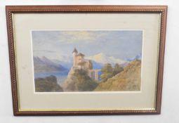 E.E. West (British 20C),. Watercolour, signed. Approx 12x19 inches.