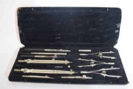 Technical drawing instruments in original box