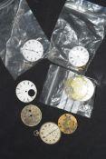 Mixed lot various pocket watches, movements and parts comprising a 19th century Scottish pocket