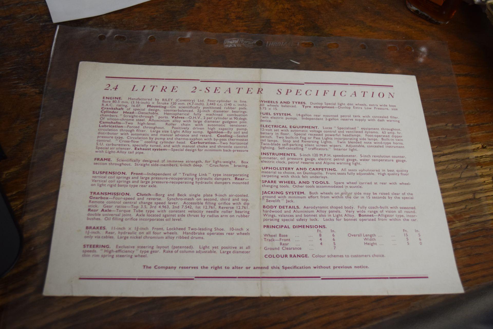 Healey Duncan Sales leaflet - Image 2 of 2